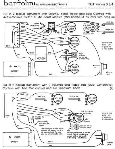 tct info3_ebay bartolini tct 3 band tone control preamp w 300 hz mid cut 9 volt Basic Electrical Wiring Diagrams at soozxer.org