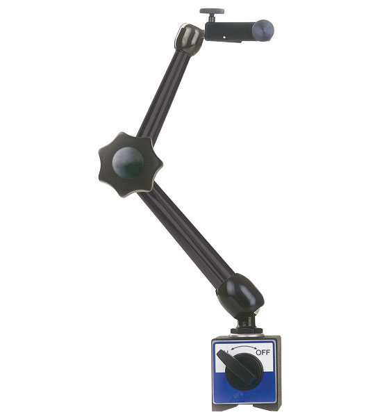 Hydraulic Arm With Magnetic Base Indicator : Noga dg magnetic base lb holding power quot arm