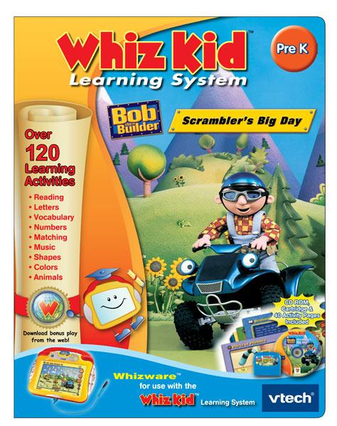 Vtech Whiz Kid CD - Bob the Builder: Scrambler's Big Day at Sears.com