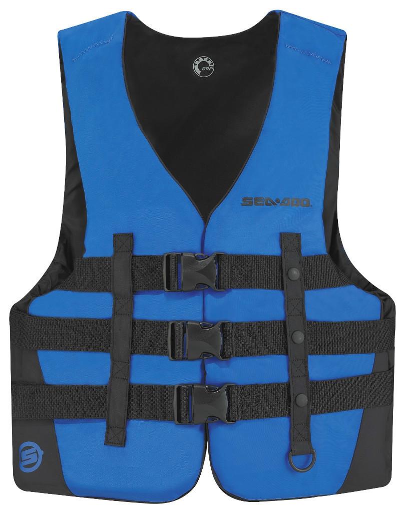BRP-Sea-Doo-Sandsea-Nylon-PFD-Life-Jacket-Vest