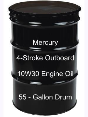 Mercury 4 stroke outboard 10w30 engine oil 55 gallon drum for 55 gallon drum motor oil