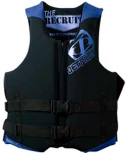 2012 Jetpilot Recruit Neoprene Dual Sized Life Jacket Pfd
