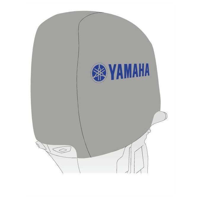 Oem yamaha c75 90 outboard motor cover mar mtrcv er 40 for Yamaha boat cover