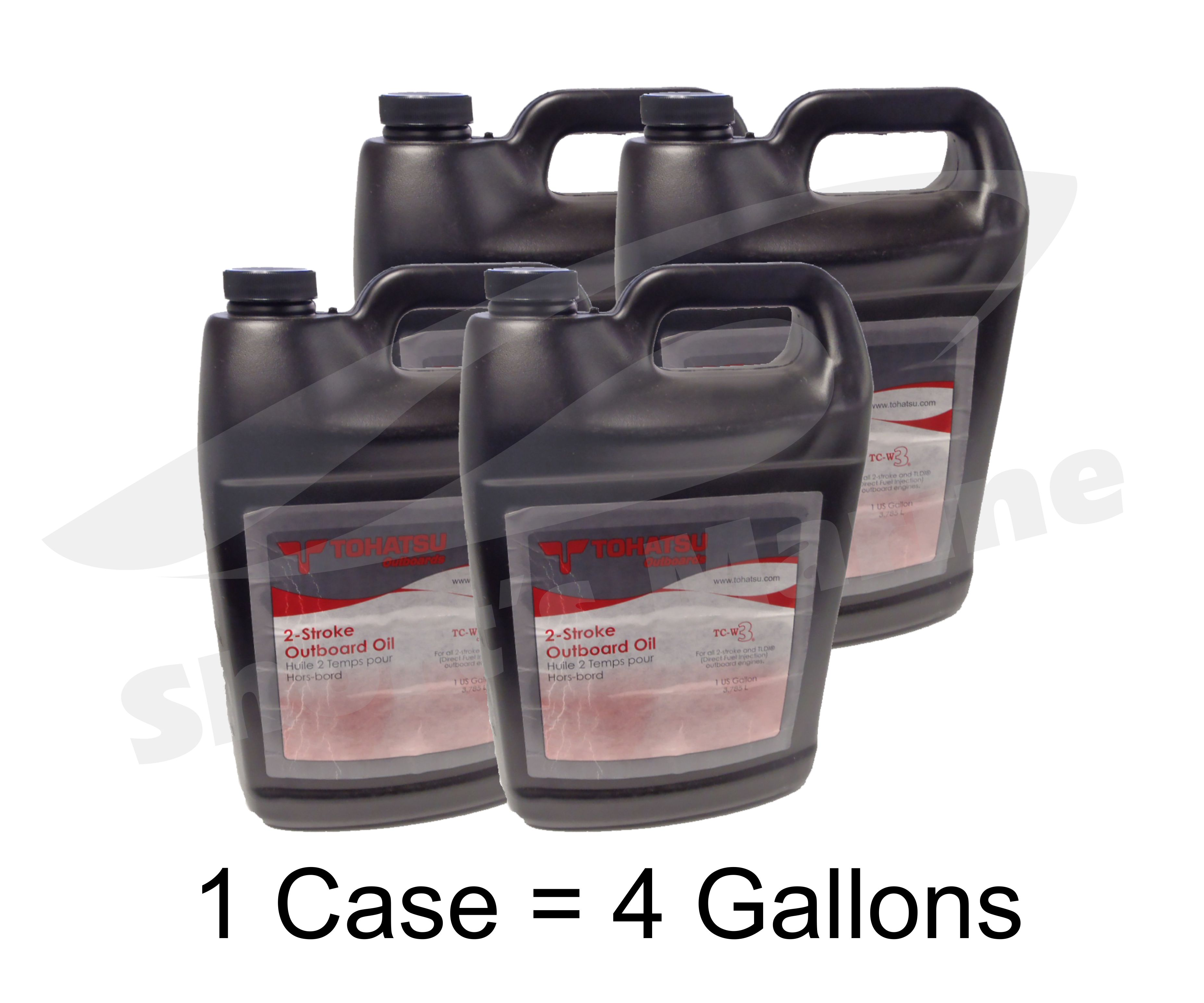 Tohatsu 2 Stroke Tldi Tc W3 Outboard Motor Oil Case Of 4
