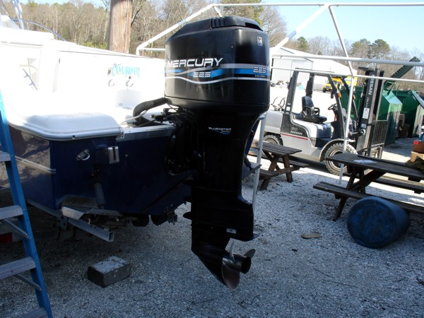 Used 1999 mercury marine 225xxl 225hp efi outboard boat for Buy new mercury outboard motor
