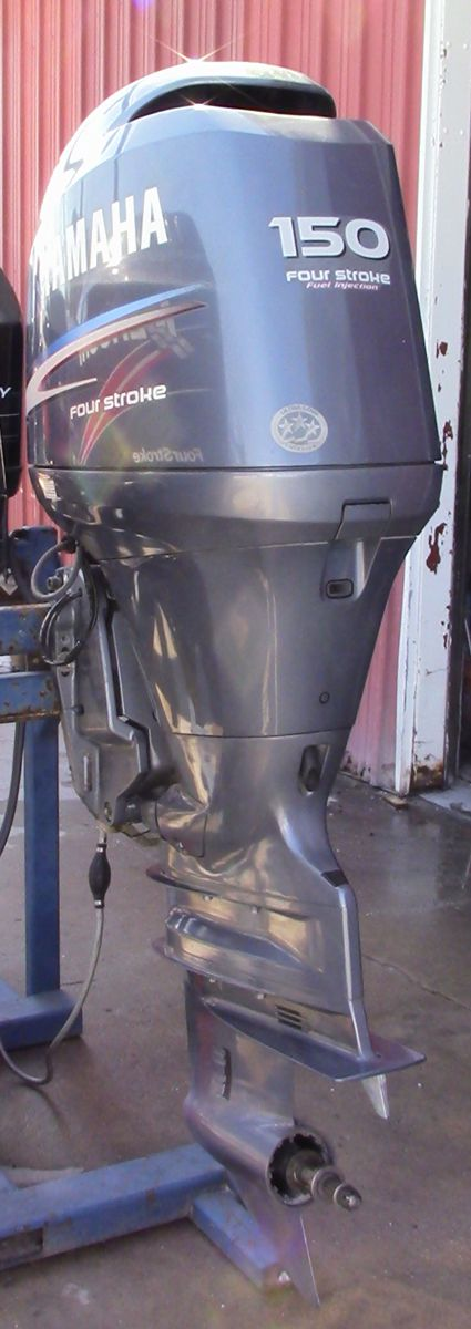 Used 2007 yamaha f150txr 150hp 4 stroke outboard boat for Yamaha 150 2 stroke fuel consumption