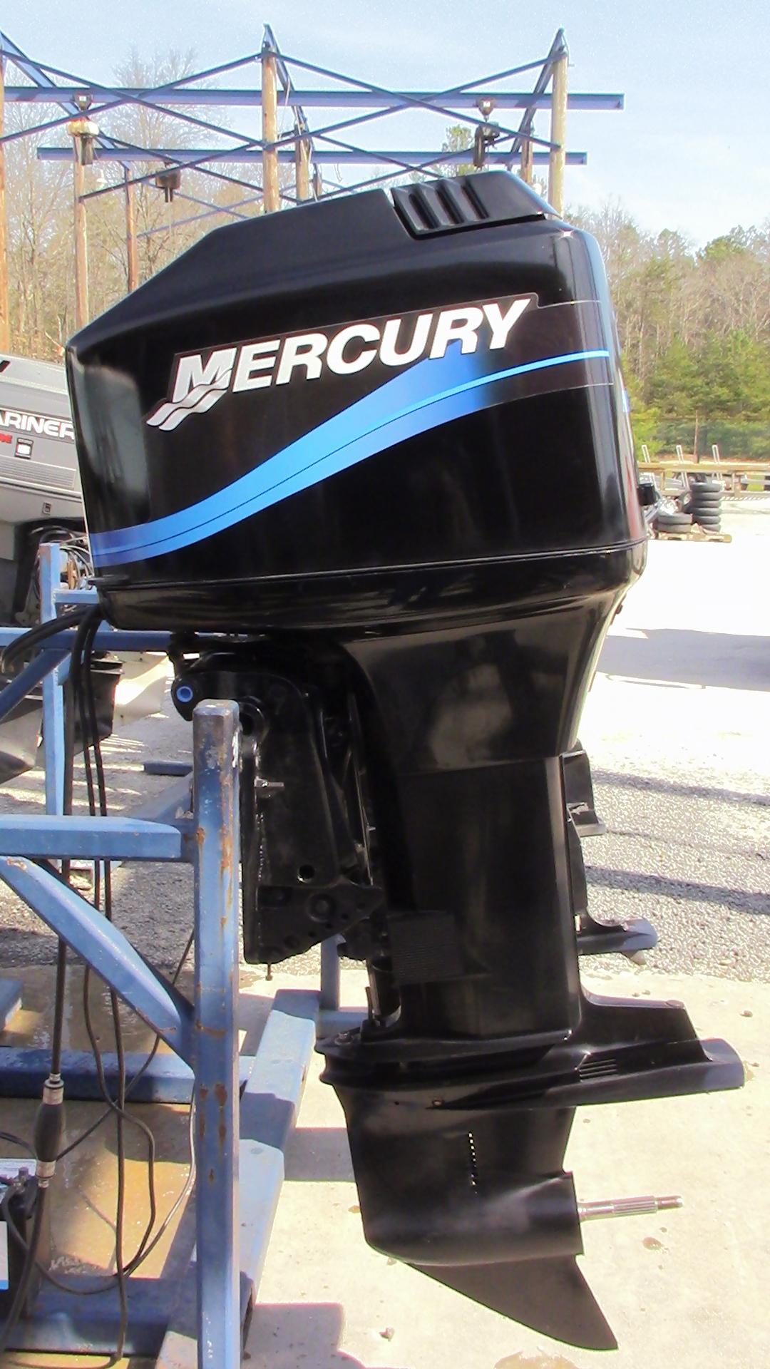 Used 1998 mercury 150xl 150hp 2 stroke outboard boat motor for Mercury boat motor mechanics
