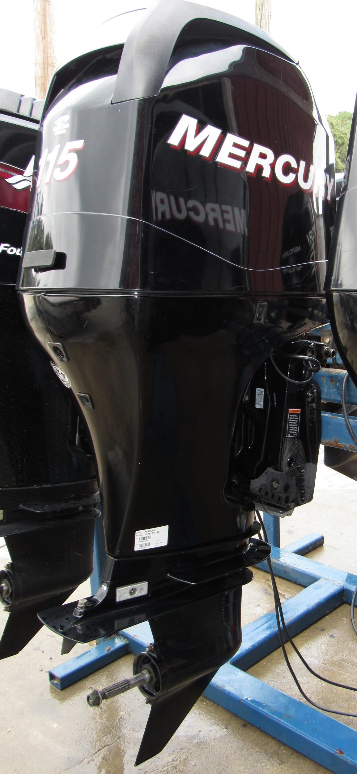 Used 2011 mercury 115elpt 115hp 4 stroke outboard boat for Mercury boat motor props