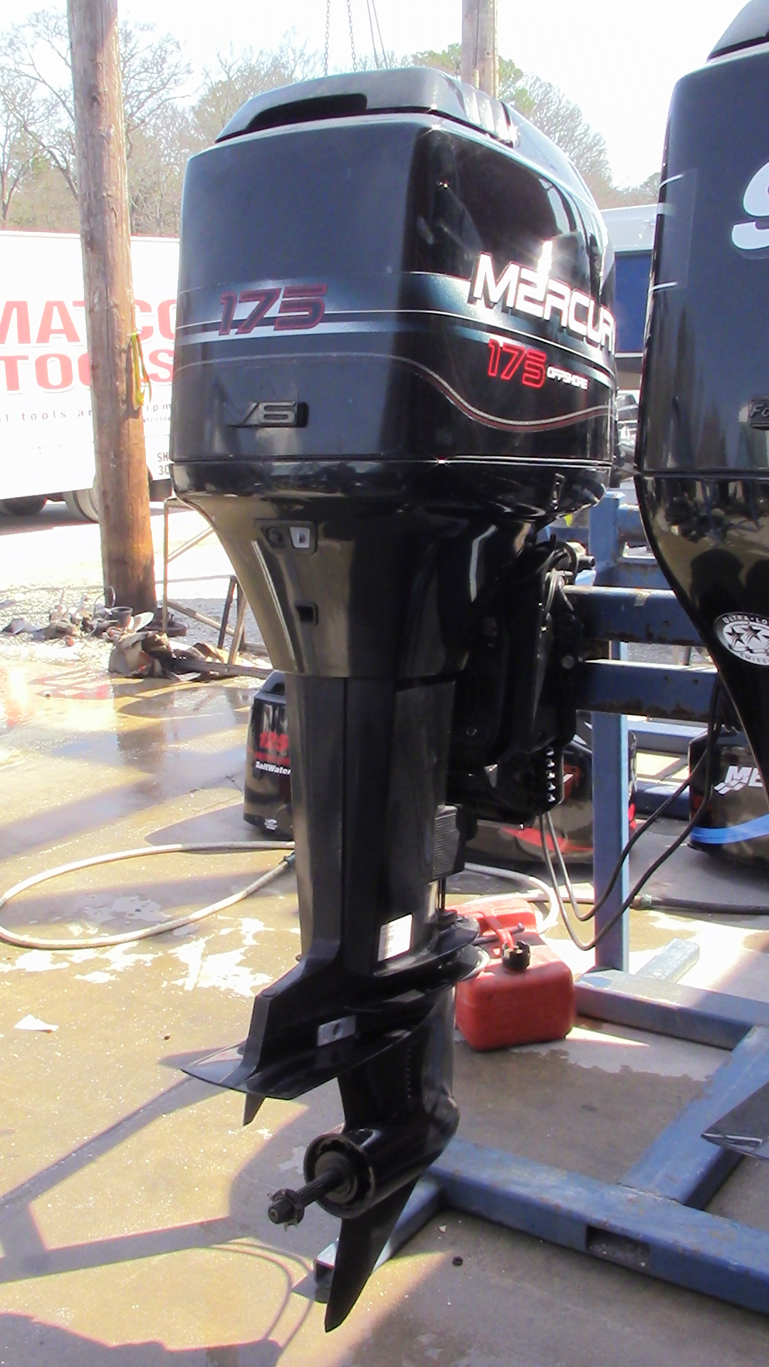 Used 1996 Mercury Marine 175xl 175hp 2 Stroke Outboard