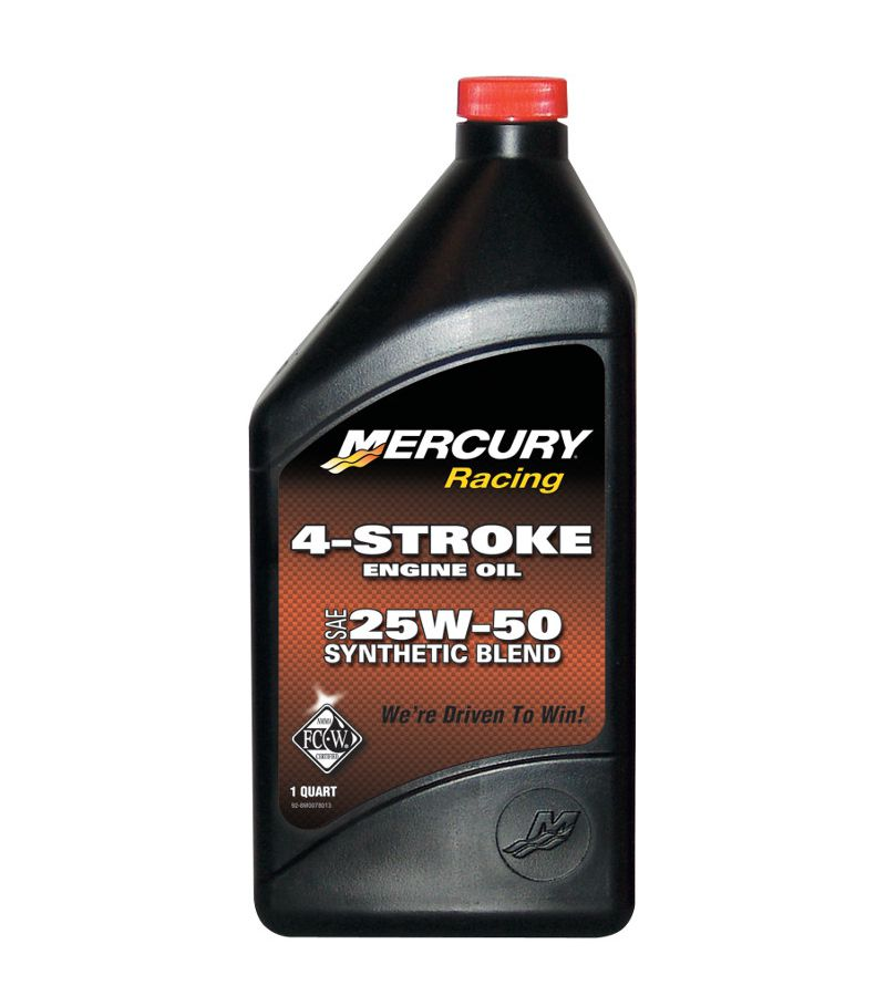 Sell oem mercury racing 4 stroke engine oil sae 25w 50 for Motor oil manufacturers in usa