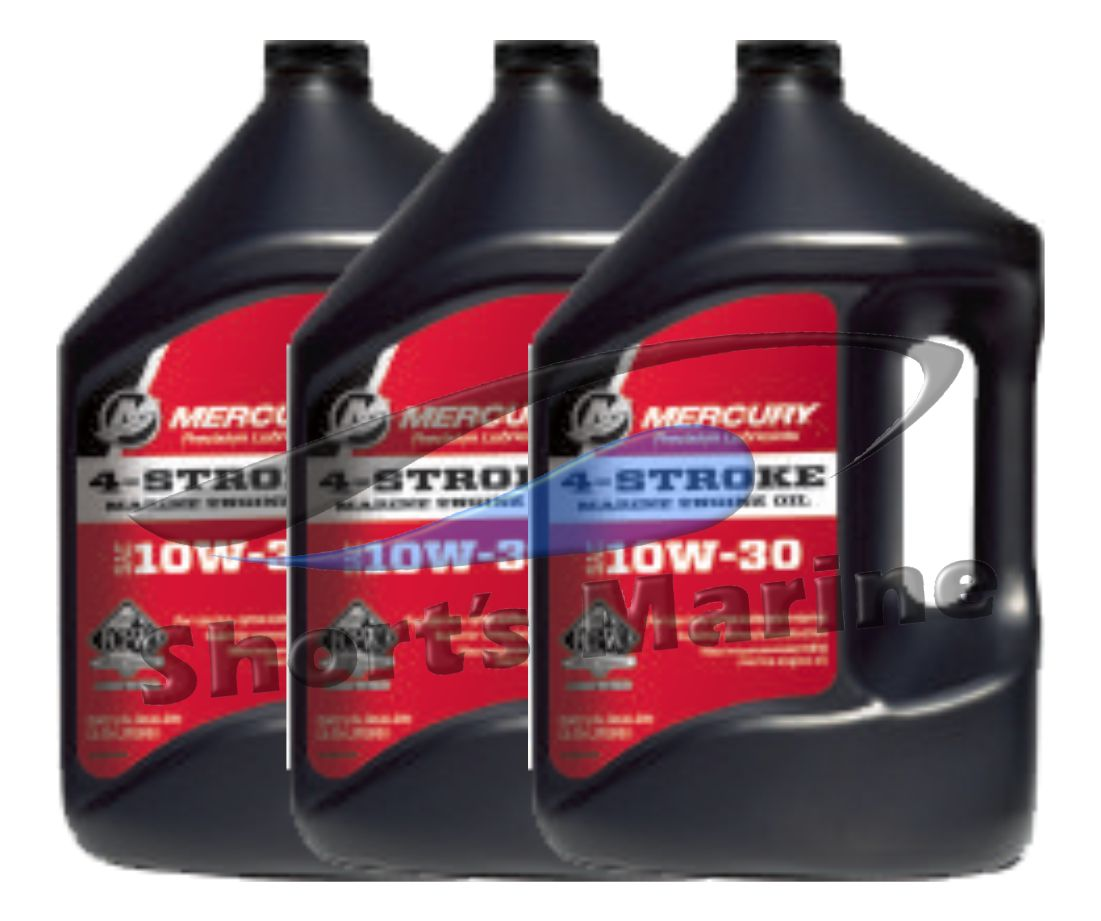 Find oem mercury 4 stroke fcw 10w 30 outboard motor oil for Case of motor oil prices