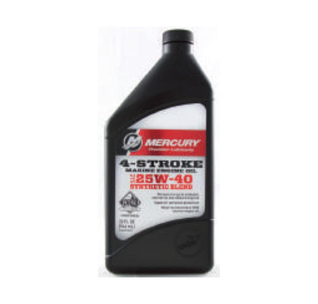 Oem Mercury 4 Stroke Fc W Sae 25w 40 Synthetic Blend