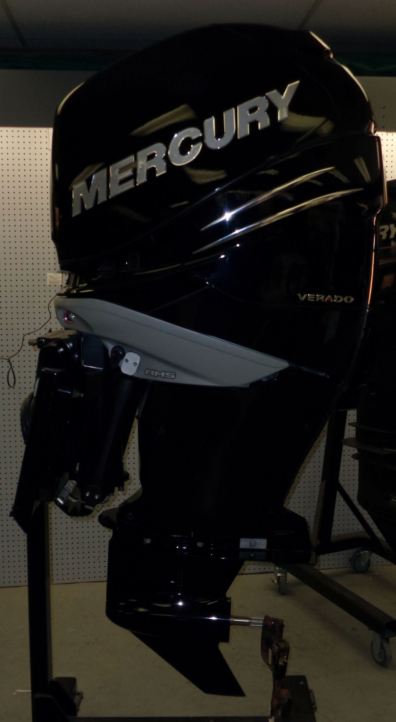 Used 1985 mercury 150 xr2 elpto 150hp outboard boat motor for Buy new mercury outboard motor