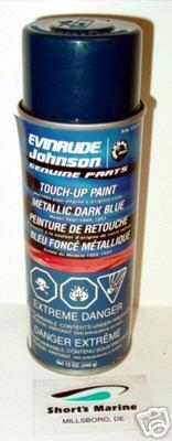 1989 93 Evinrude Metallic Dark Blue Spray Paint Ebay