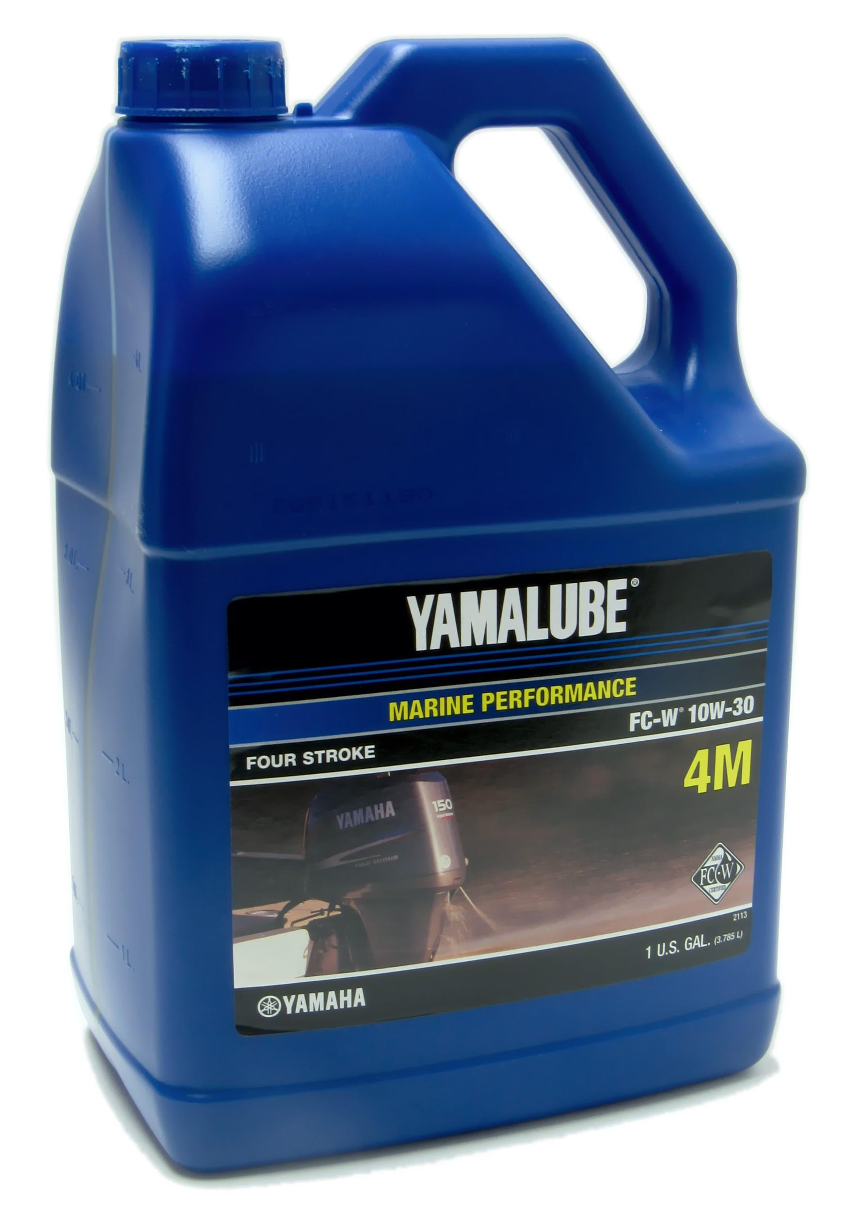 Yamaha Yamalube 4m Outboard Fc W 10w 30 Four Stroke Engine