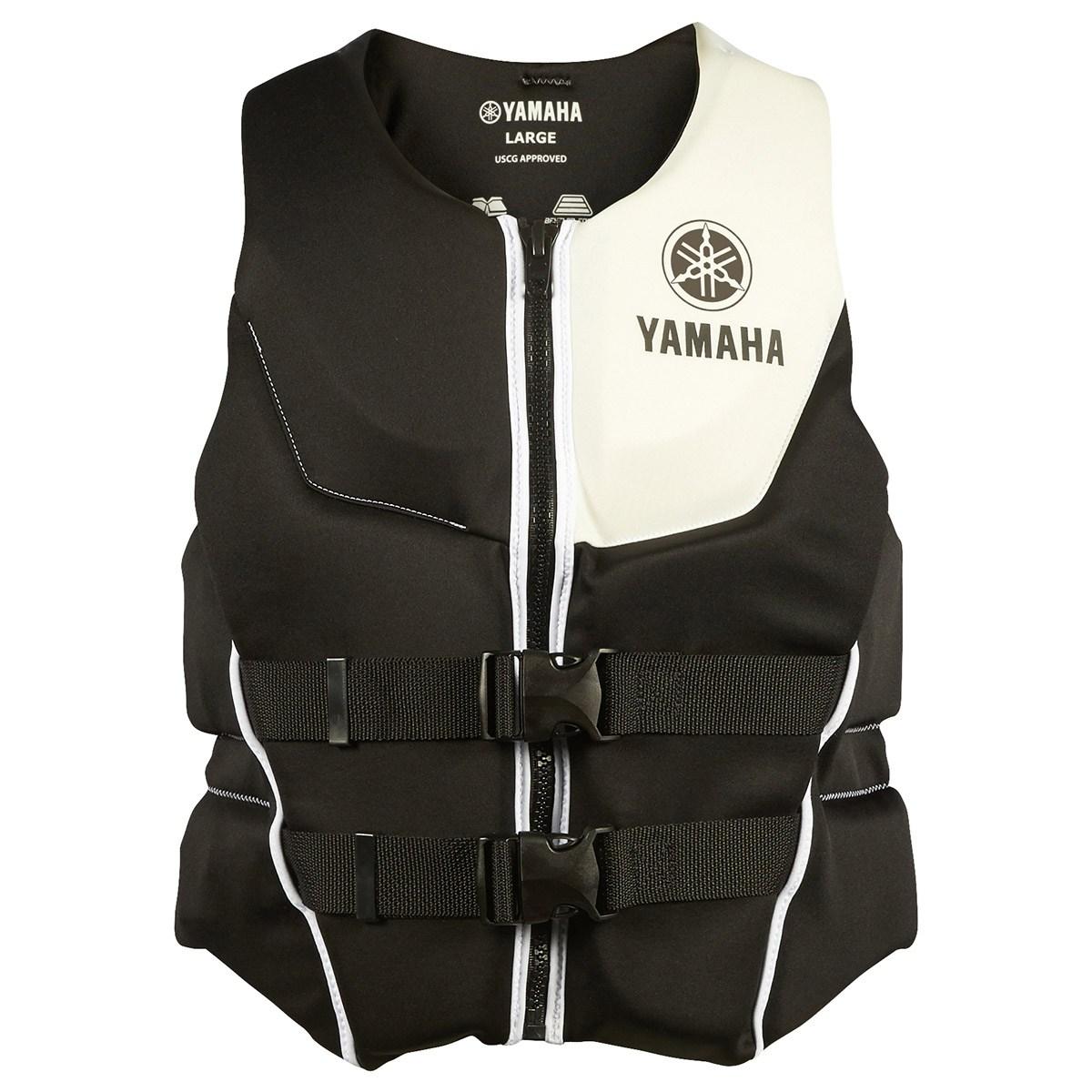 Oem Yamaha Men S Neoprene 2 Buckle Pfd Life Jacket Vest Ebay