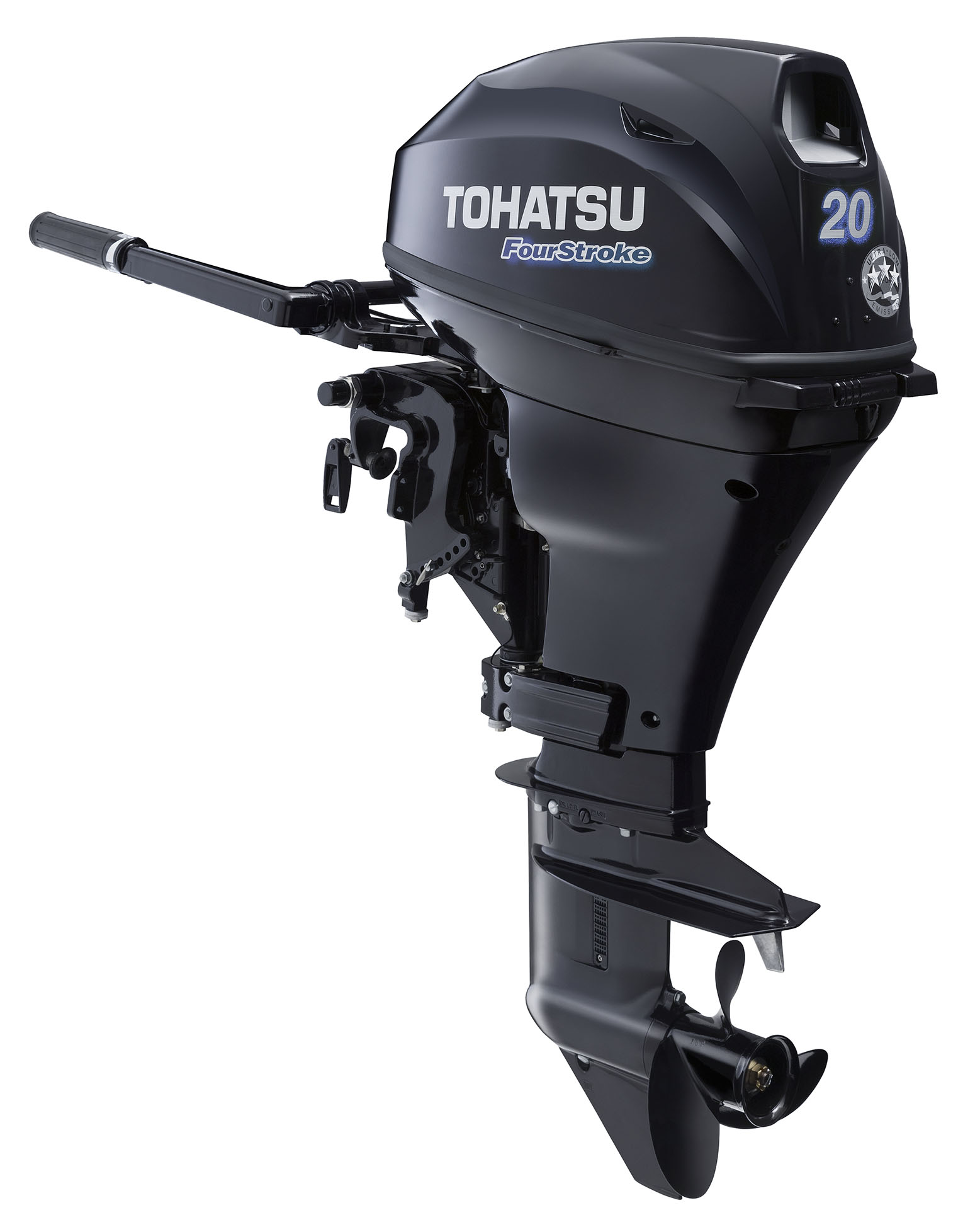 2016 tohatsu 20 hp electric start 4 stroke outboard motor