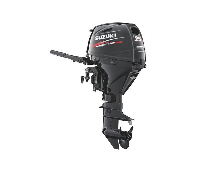 New suzuki 25 hp 4 stroke efi outboard motor tiller 15 for Suzuki 2 5 hp 4 stroke outboard motor