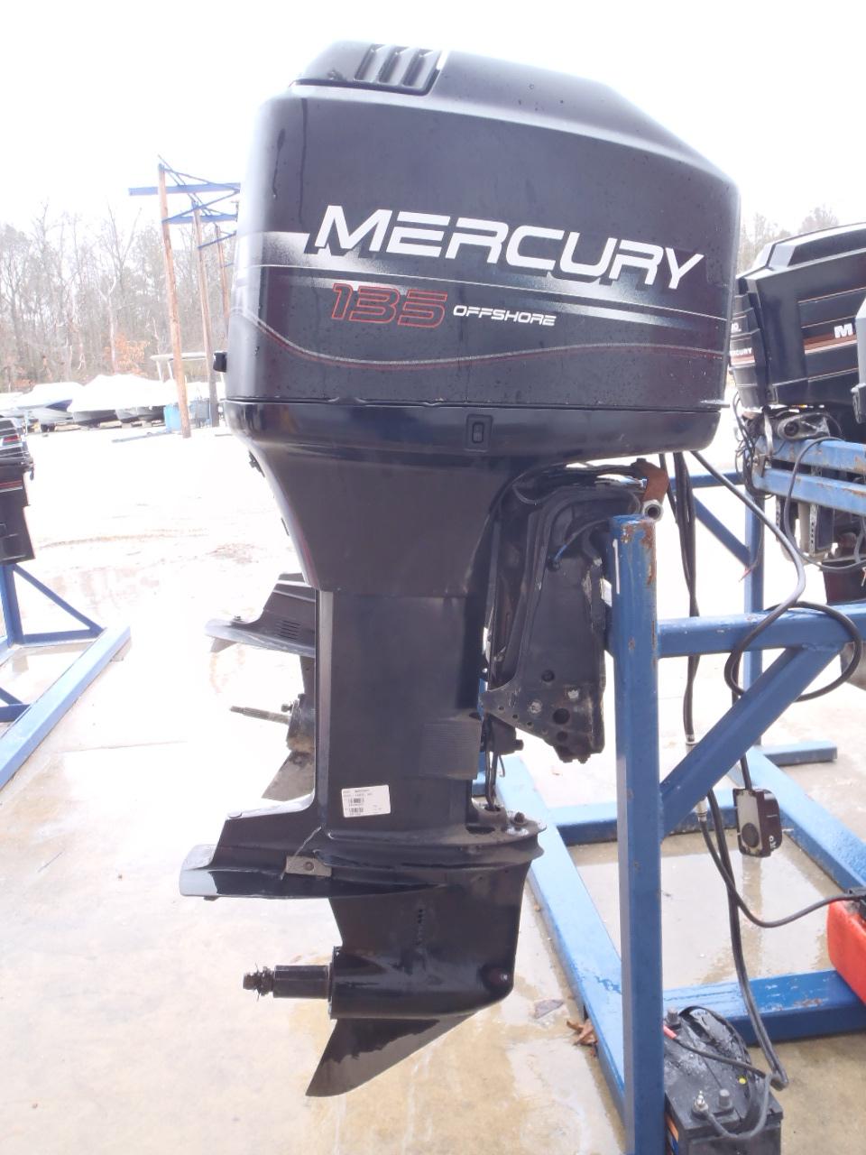 Used 1997 Mercury Marine 135xl 135hp Outboard Boat Motor