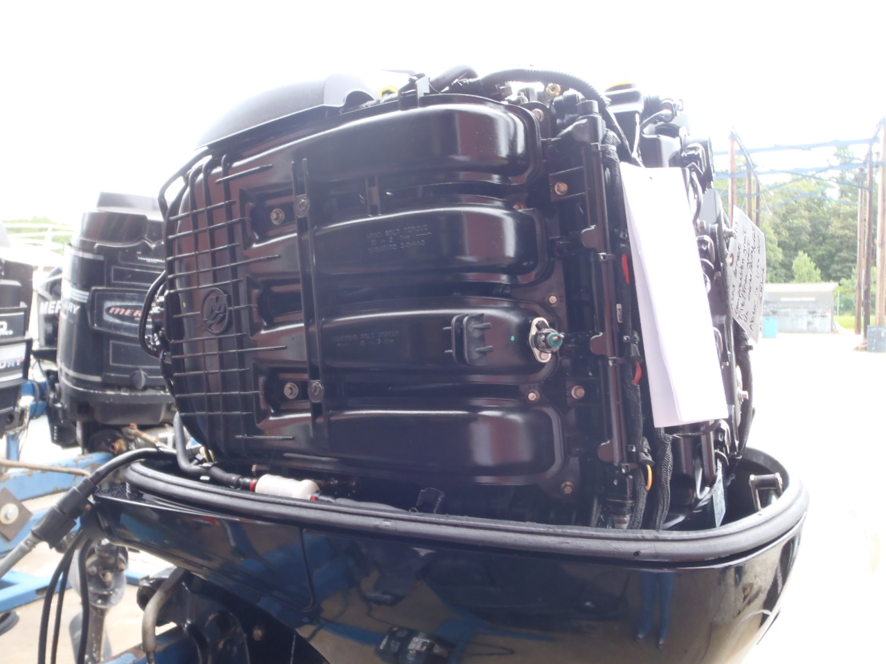 Used 2011 Mercury 115elpt Efi 115hp 4 Stroke Outboard Boat