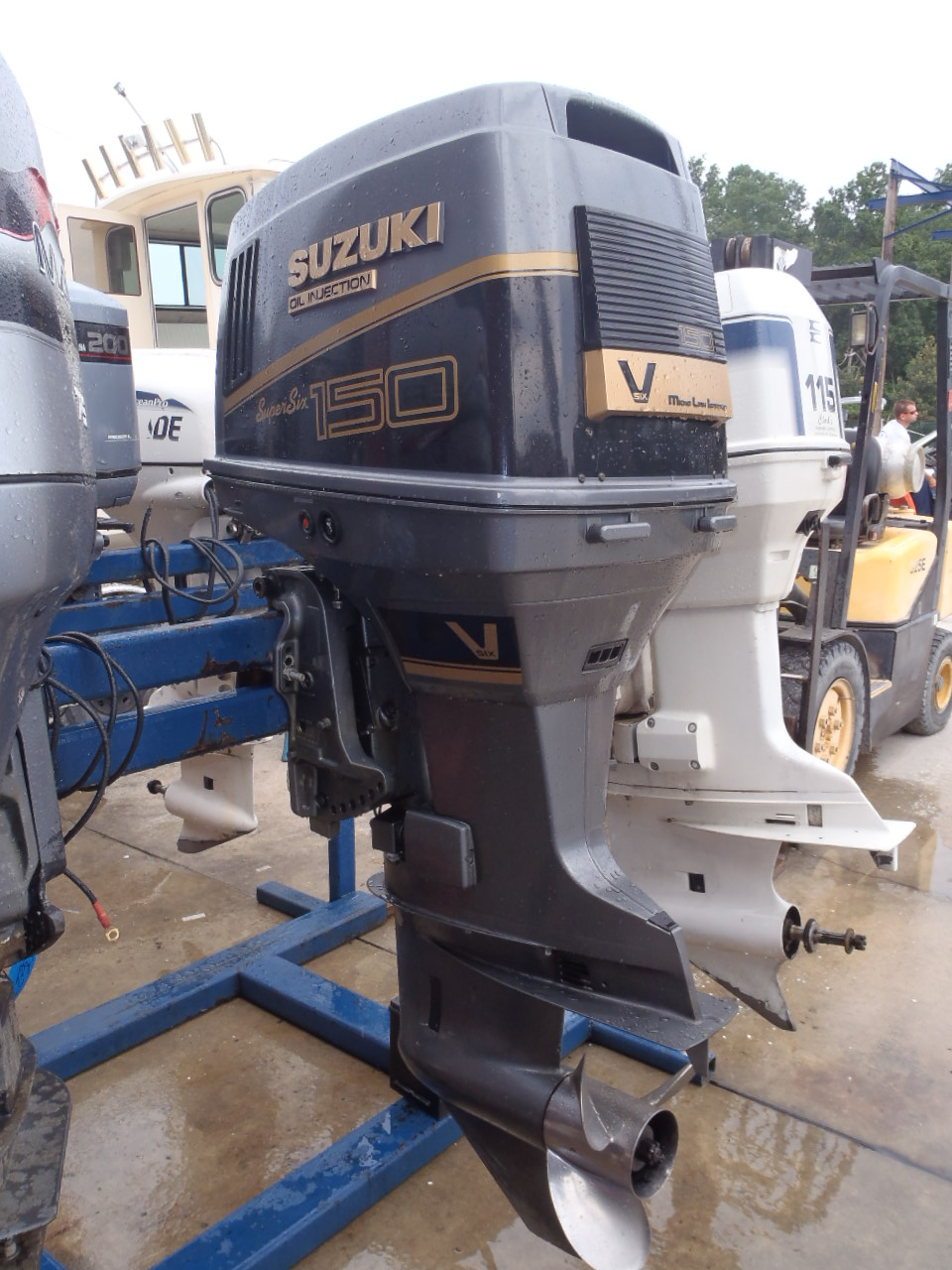 Suzuki 150 Outboard Price Motorcycle Image Idea 1988 Motor Parts Used 1992 Dt150 150hp 2 Stroke Boat 20