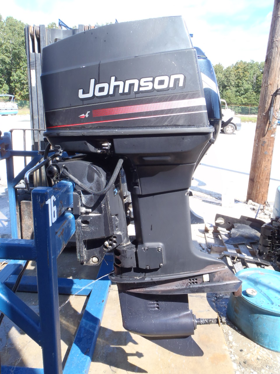 Used 1996 johnson j70tleda 70hp 2 stroke outboard boat Two stroke outboard motors