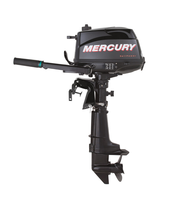 New Mercury 5 Hp 4 Stroke Outboard Motor Tiller 20 Shaft