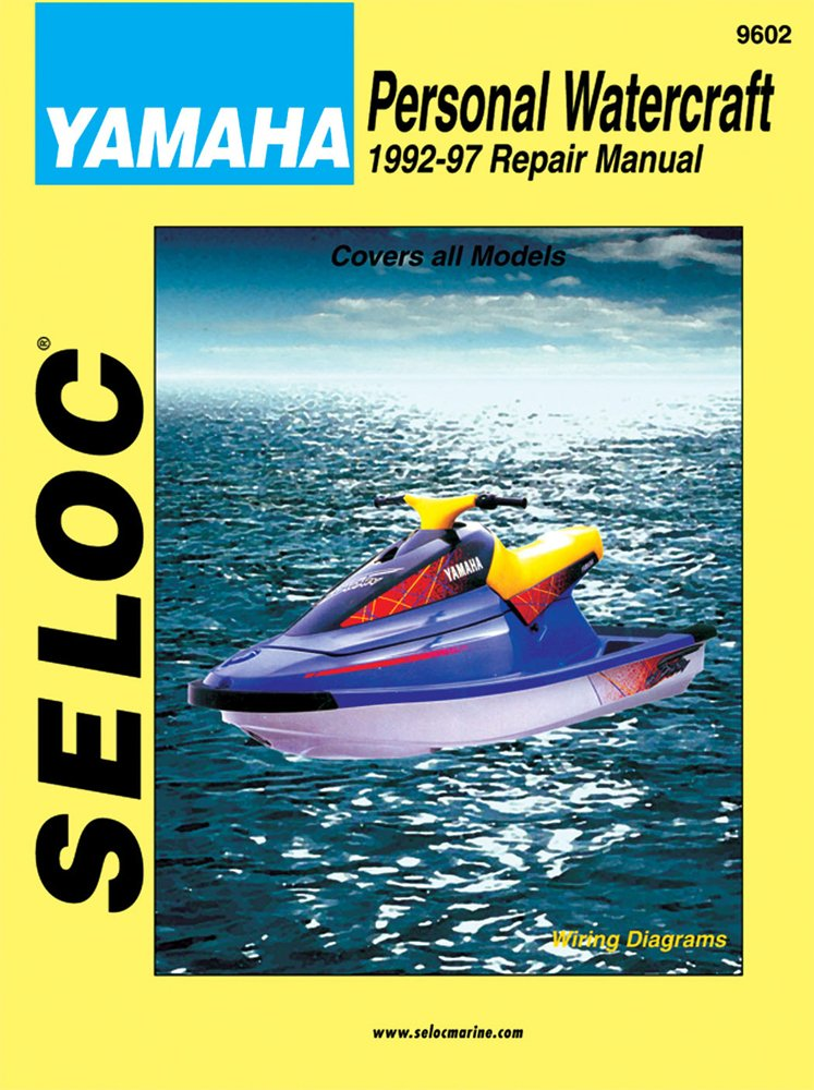 seloc repair manual yamaha waverunner pwc 1992 1996 ebay. Black Bedroom Furniture Sets. Home Design Ideas