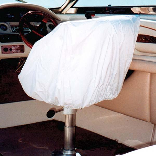 taylor made marine boat helm bucket seat white vinyl. Black Bedroom Furniture Sets. Home Design Ideas