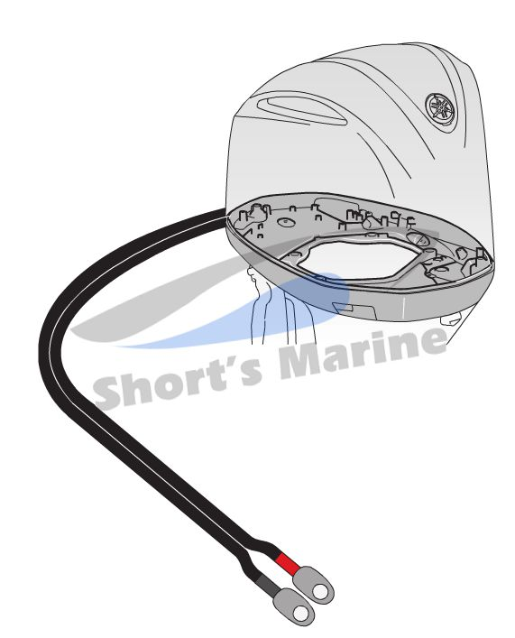 Yamaha Outboard Control Cable Replacement : Oem yamaha outboard stroke f  battery