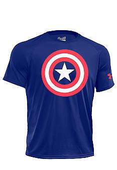 Mens Under Armour Super Hero Captain America Loose Shirt