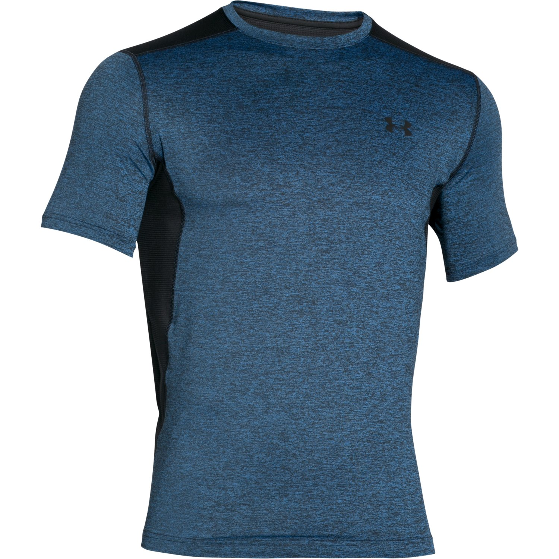 Men 39 s under armour raid short sleeve t shirt ebay for Under armour half sleeve shirt