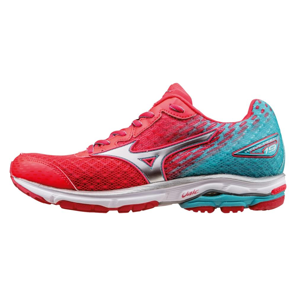 women 39 s mizuno wave rider 19 running shoe ebay. Black Bedroom Furniture Sets. Home Design Ideas