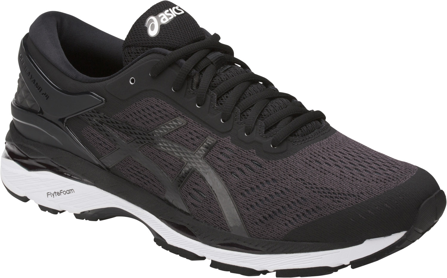 Black Running Shoes Ascis