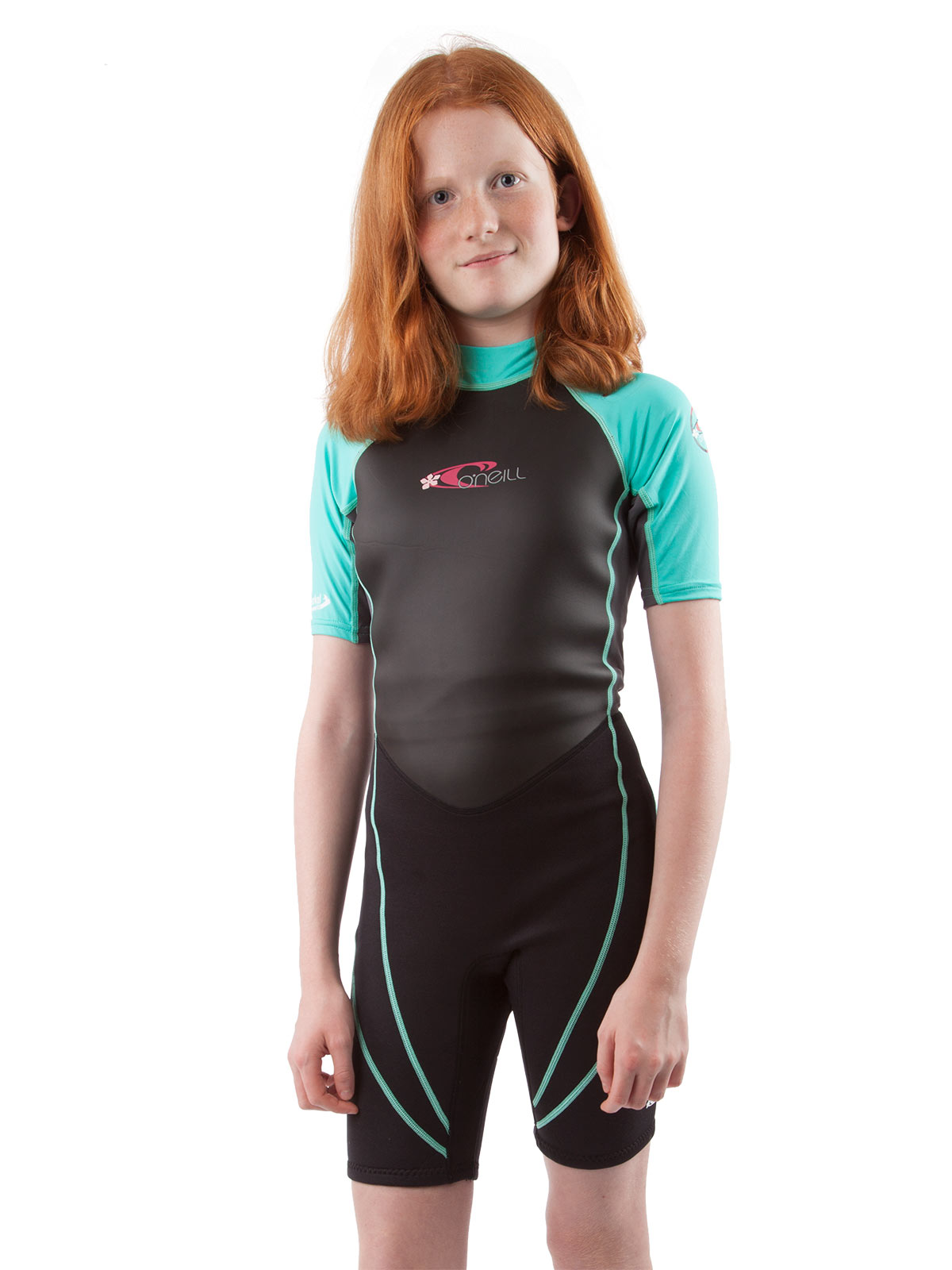 O'Neill Reactor Hybrid Neoprene/Lycra Shorty Kids Wetsuit...