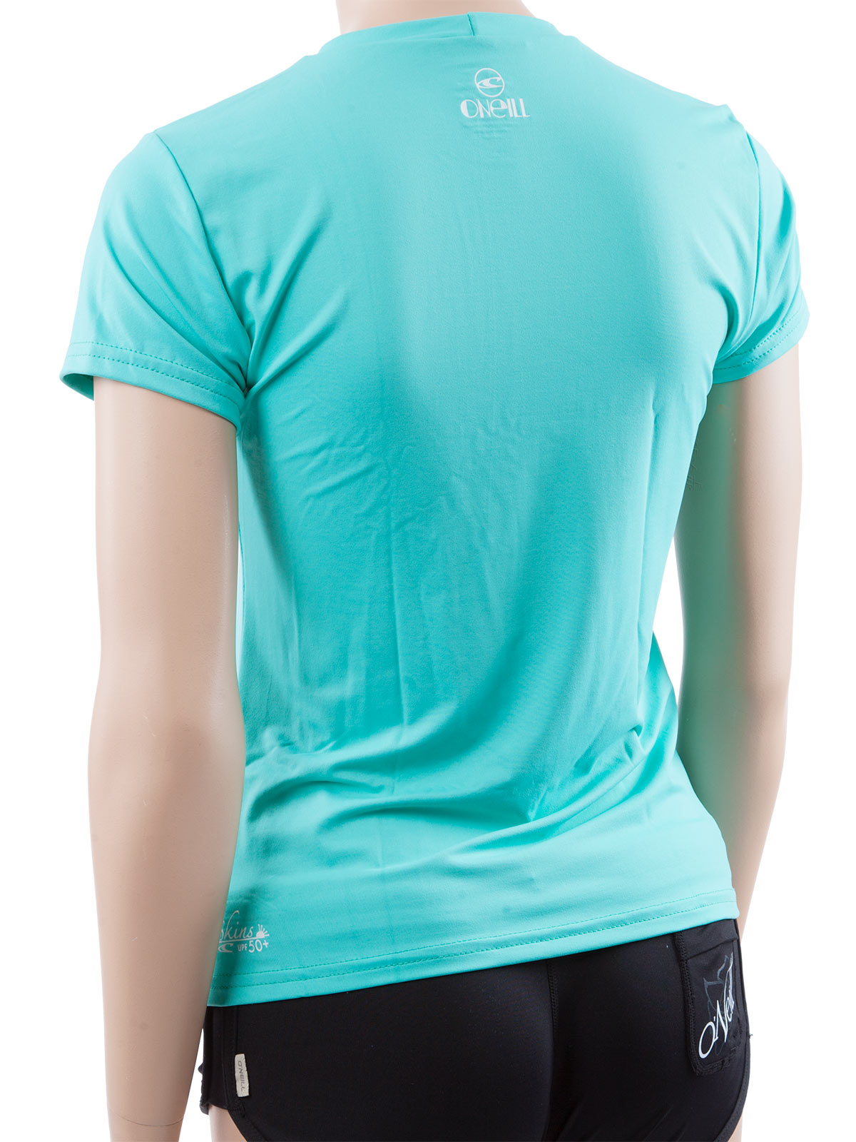 O 39 neill women 39 s rash tee looser fit rashguard swim shirt for Uv protection t shirt