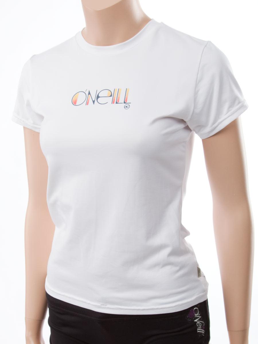 O'Neill Women's Rash Tee: Looser Fit Rashguard Swim Shirt...