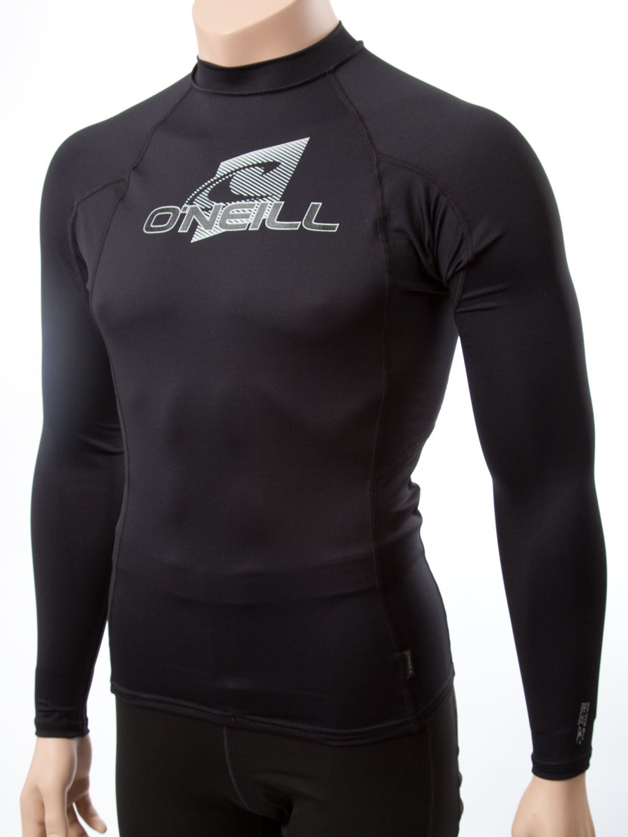 O 39 Neill Men 39 S Long Sleeve Rashguard Lycra Swim Shirt With