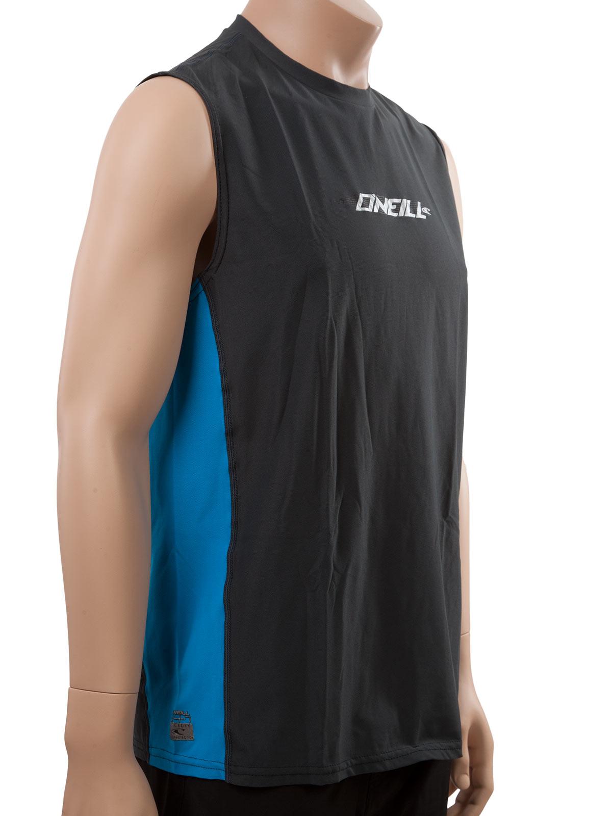 O 39 neill men 39 s rash tee slim fit swim shirt looser fit for Wearing t shirt in swimming pool