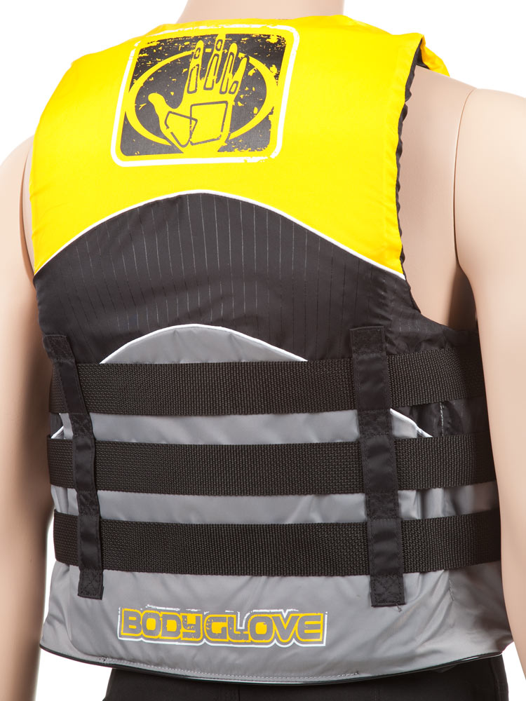 Body glove method adult nylon vest