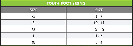 O'Neill Kids Reactor Low-top Neoprene Reef Shoes size chart