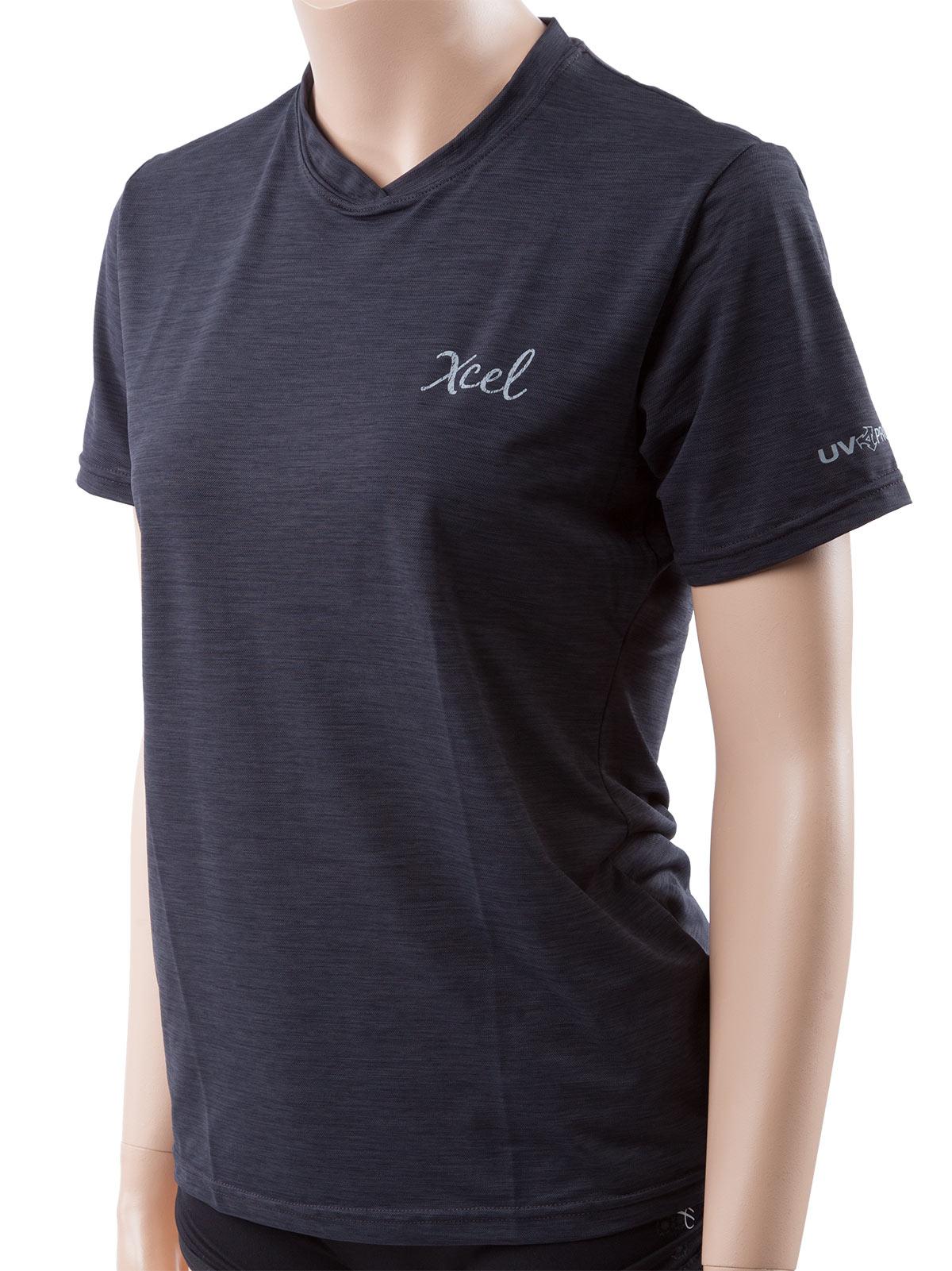 Xcel ventx womens breathable shortsleeve 30 uv sun swim for Men s uv swim shirt short sleeve