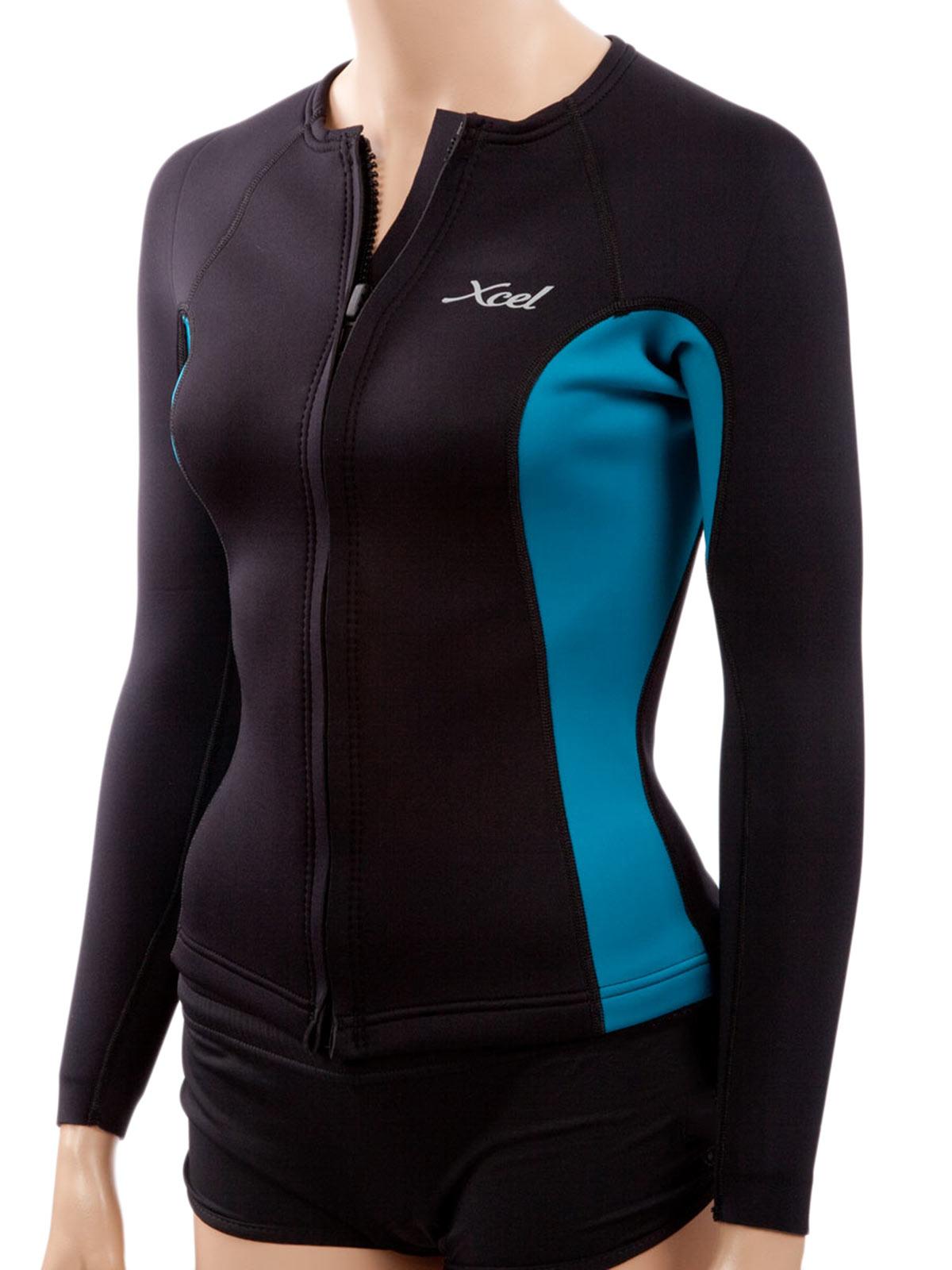 Xcell Women's Longsleeve Front-Zip Aqua Fitness Wetsuit J...