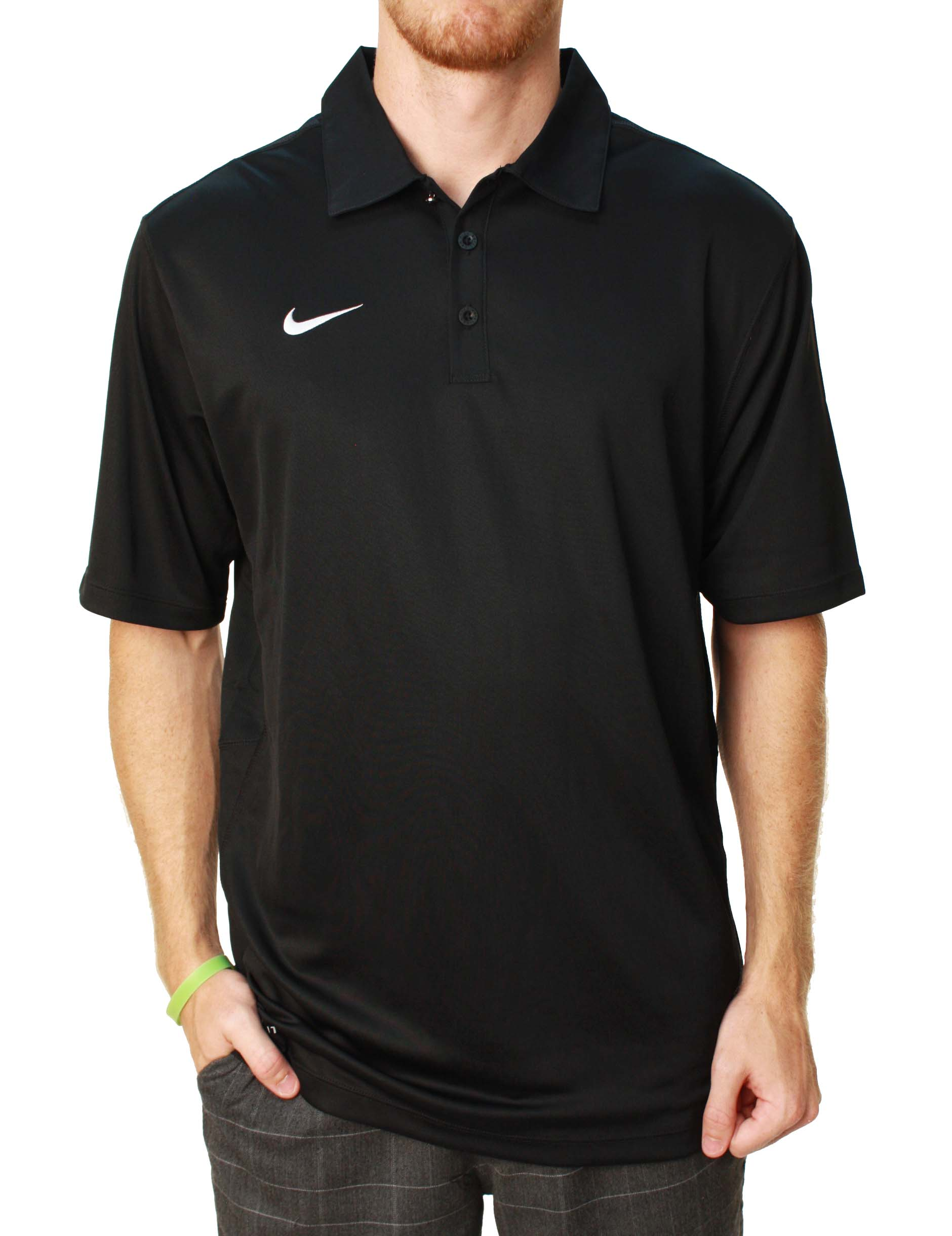 Nike Men's Dri-Fit Short Sleeve Training Polo Shirt at Sears.com