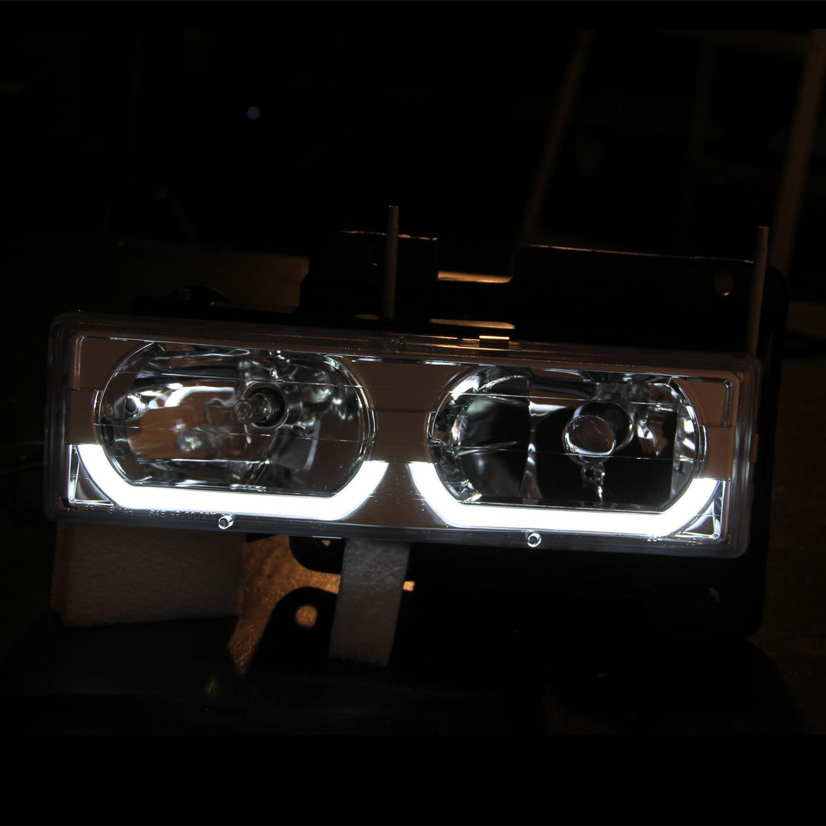 1994-1998 Chevy C/K 1500/2500/3500/GMC Sierra [U Shape LED