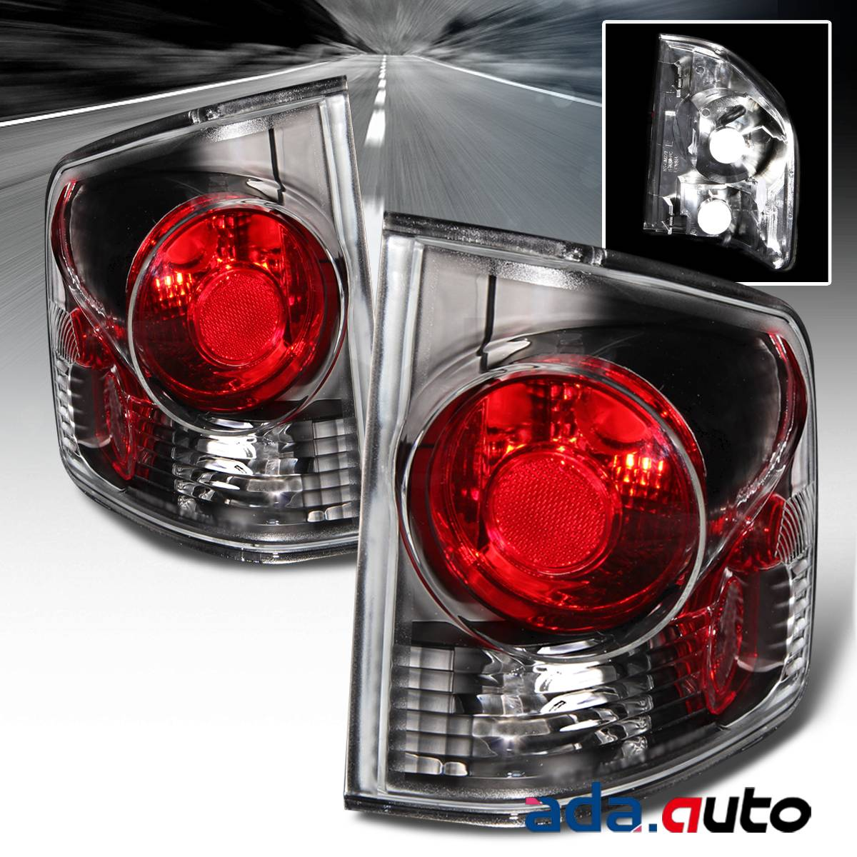 1994 Gmc Sonoma Black Tail Lights  U0026quot Mod G4 U0026quot  Pair