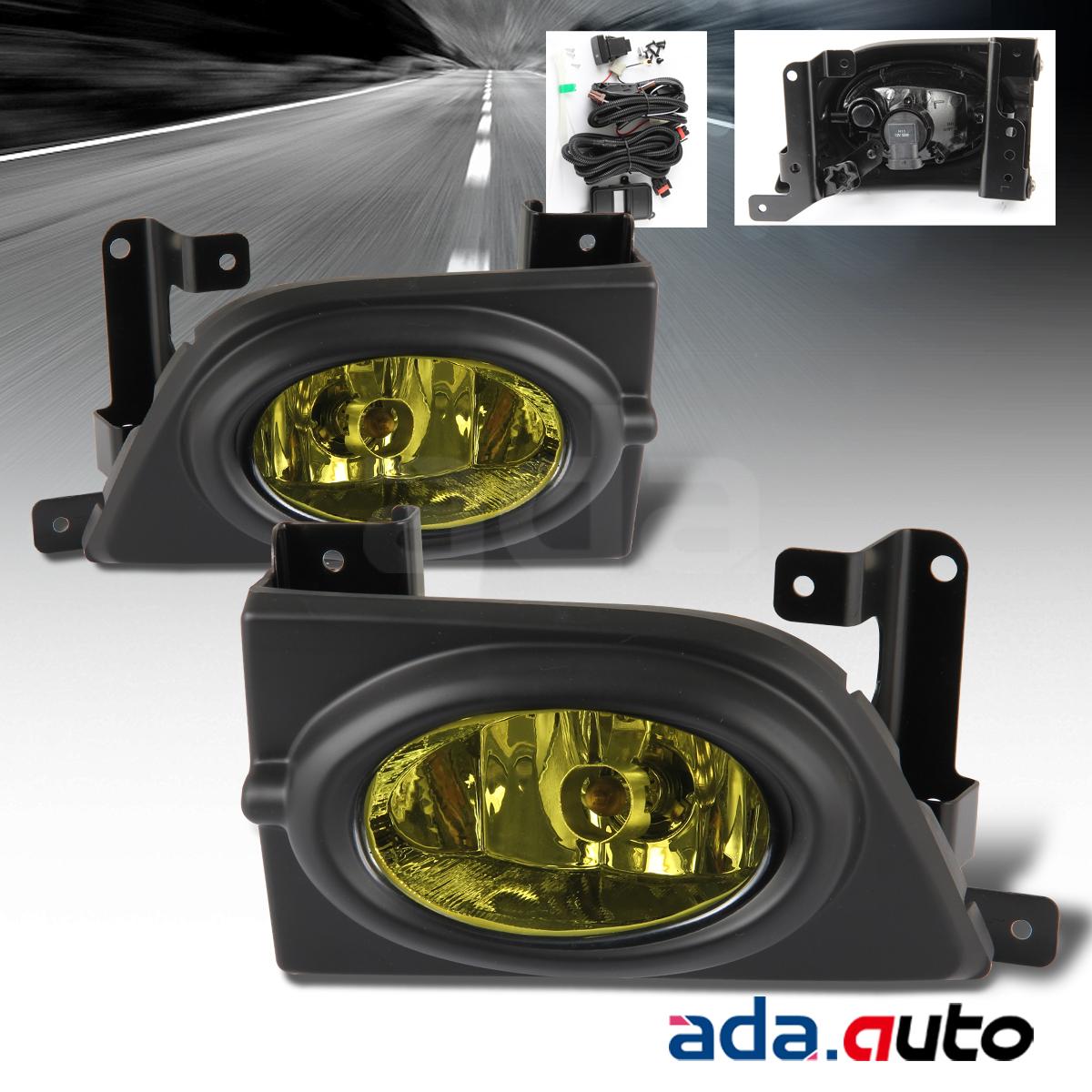 Honda civic dr sedan amber lens fog lights