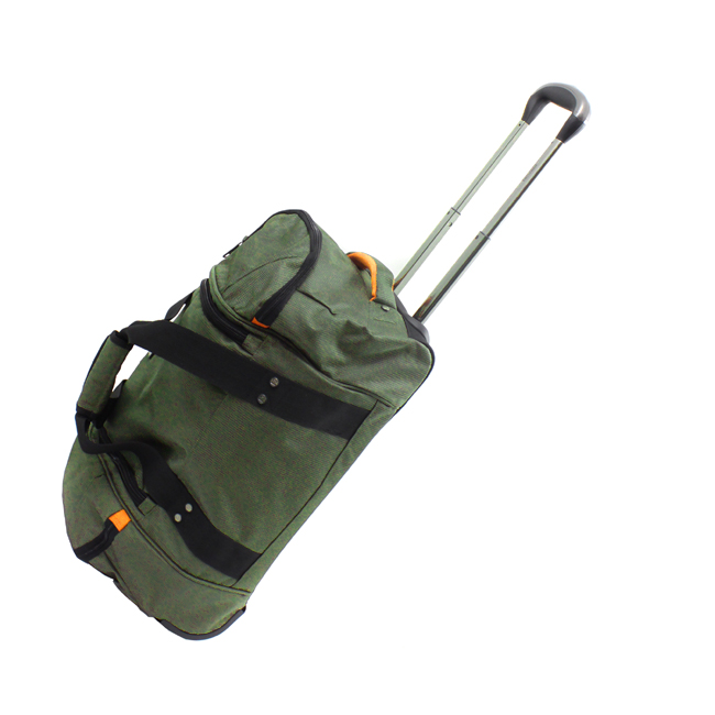 Kenneth Cole Reaction Hitchin A Ride 22 Rolling Duffel Bag   Olive