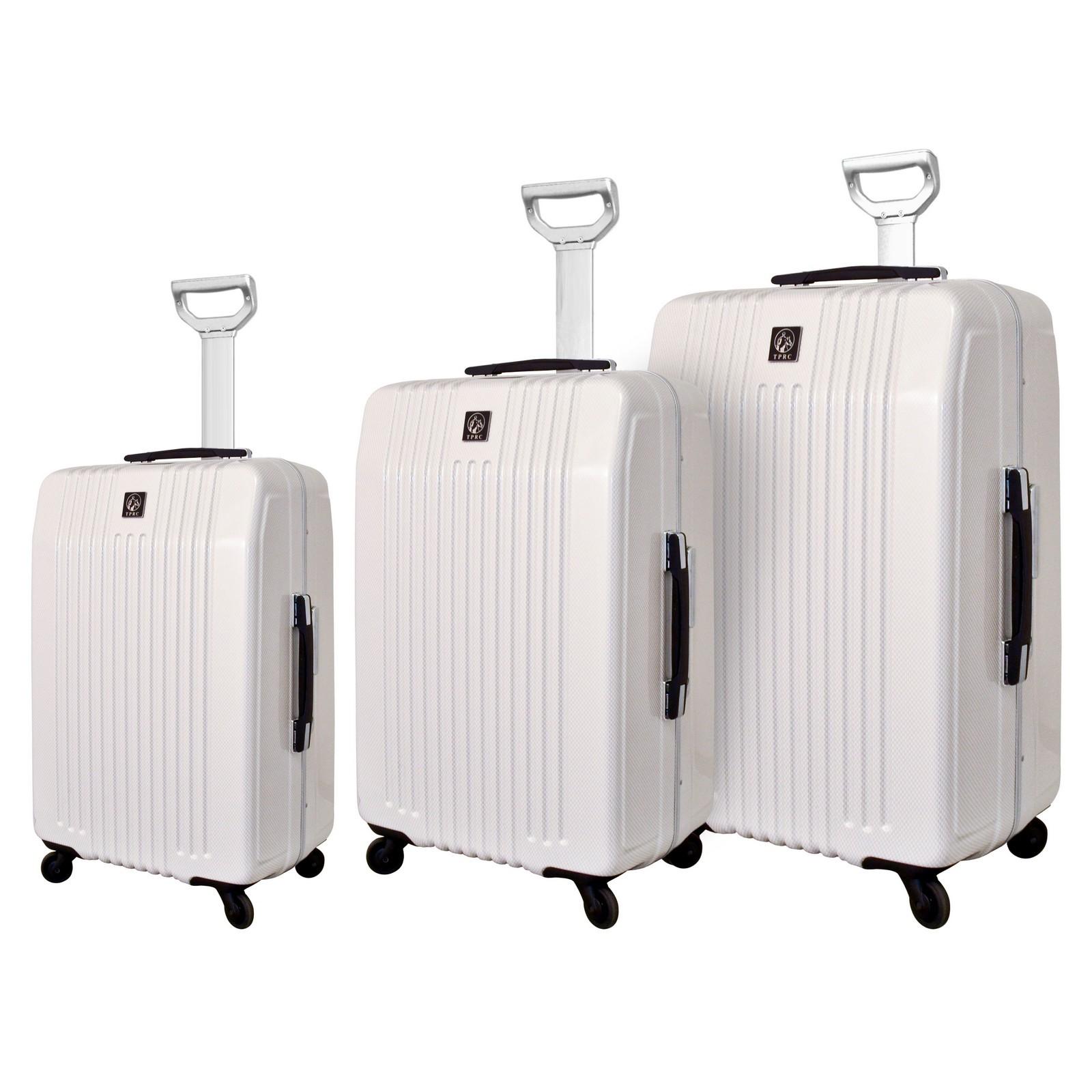 Travelers Club Jet Set Hardside 3-Piece Expandable Spinner Luggage Set