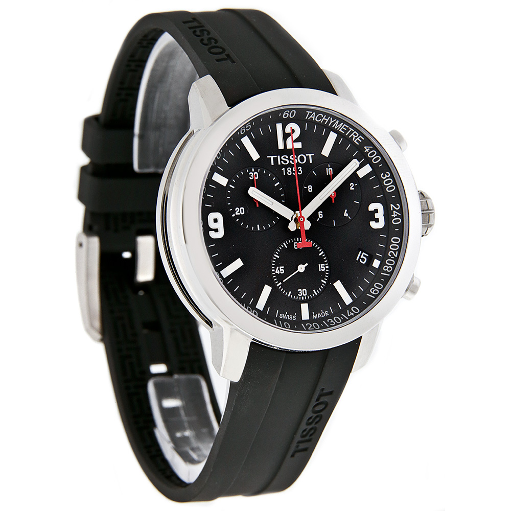 tissot prc 200 mens black swiss quartz chronograph watch t055 tissot prc 200 mens black swiss quartz chronograph watch t055 417 17 057 00